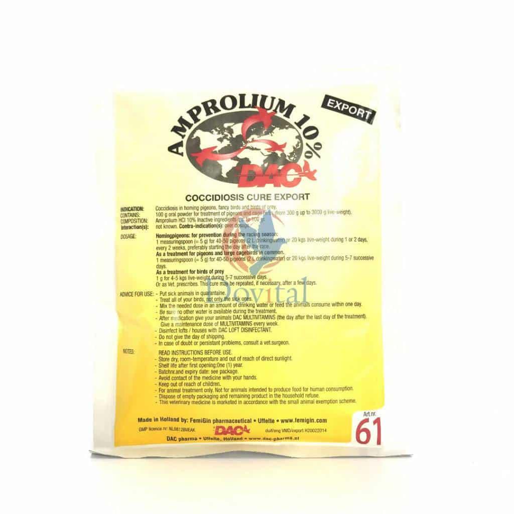 Dac Pharma Amprolium 10% (Coccidiose)