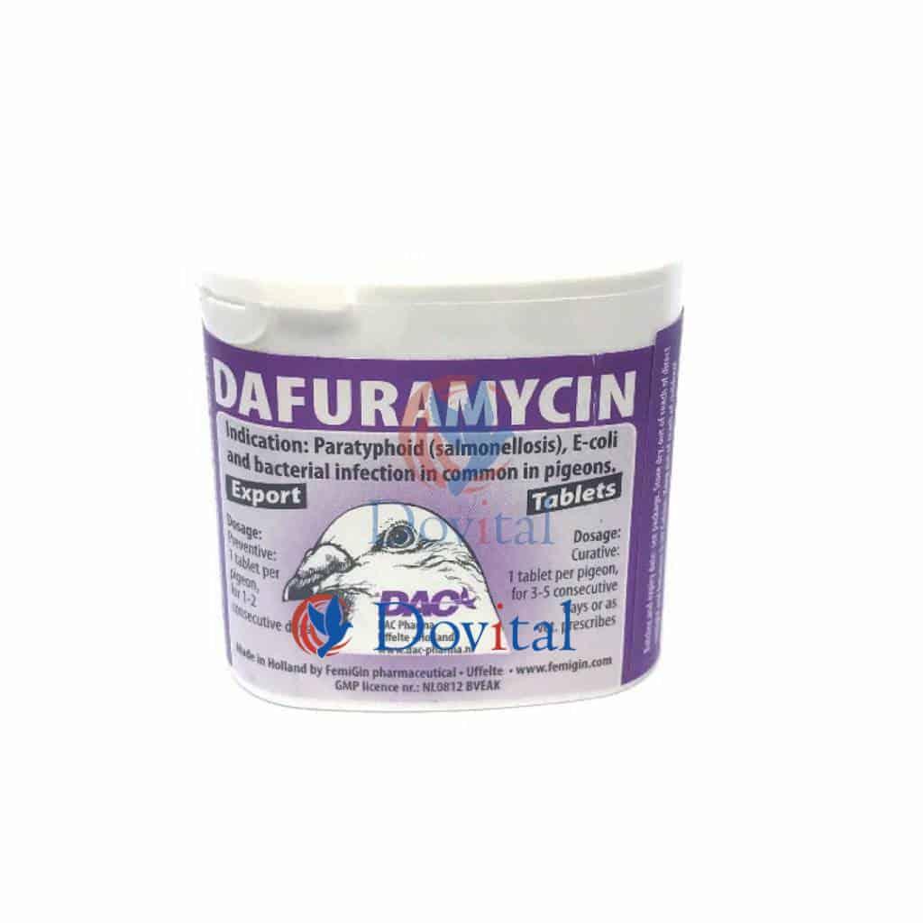 Dac Pharma Dafuramycine tabletten (Salmonella E-coli)