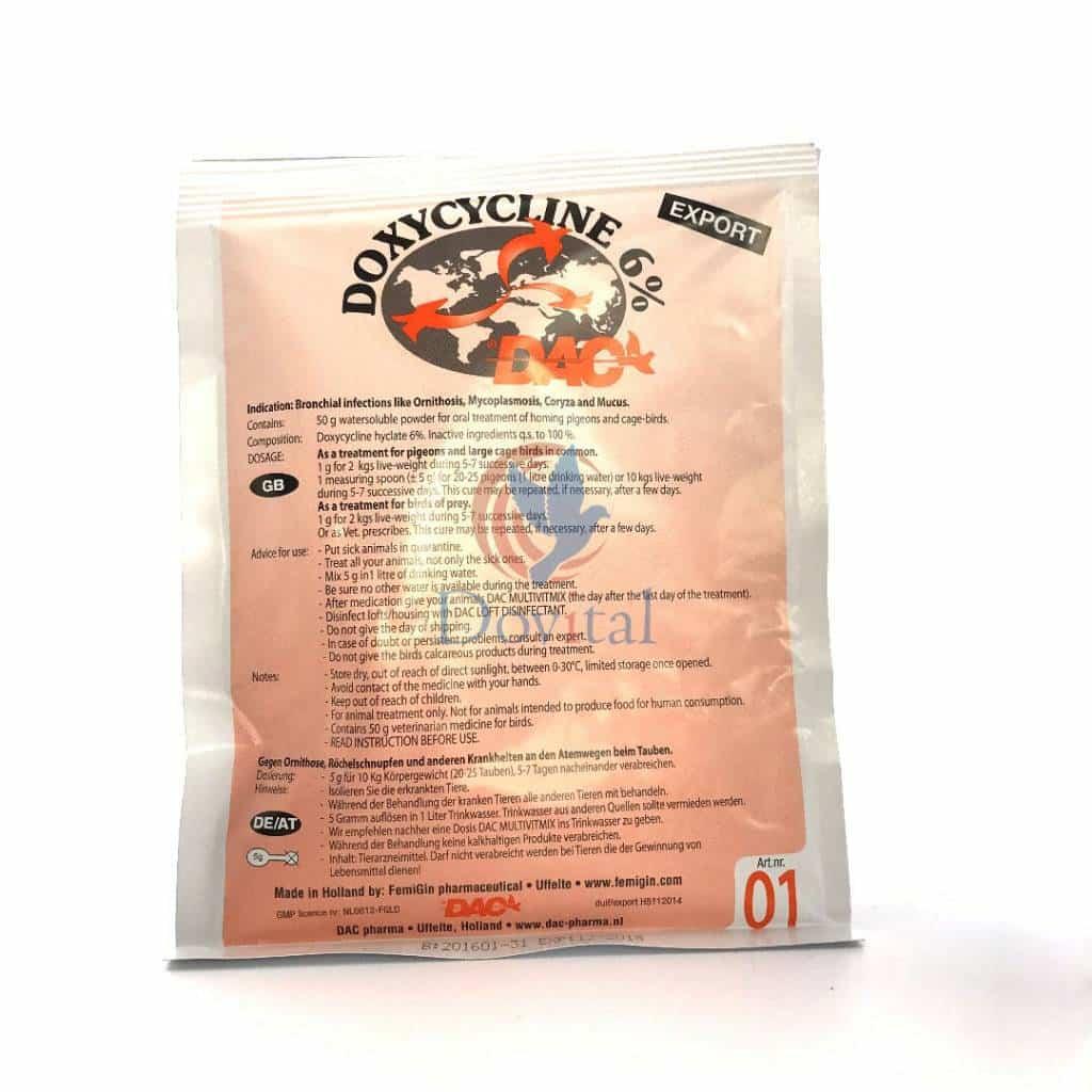 Dac Pharma Doxycycline 6nbspDac Pharma Doxycycline 6