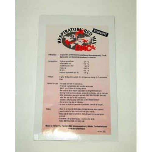 Dac Pharma Respiratoire Rode Mix (ornithose