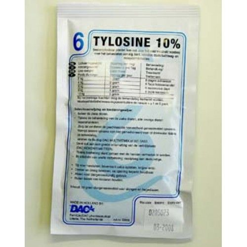Dac Pharma Tylosine 10% ( luchtweginfecties )