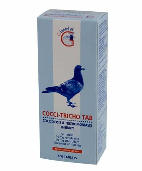 Giantel Cocci-Tricho tab (100 tabl.)