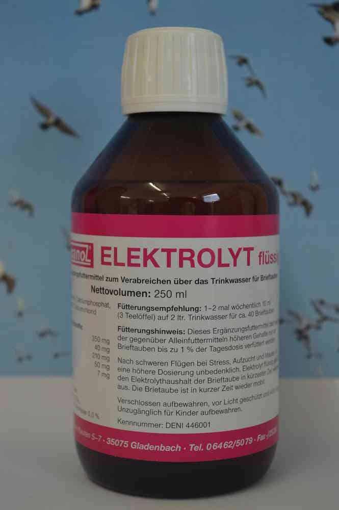 Hesanol Elektrolyt - vloeistof 250 ml