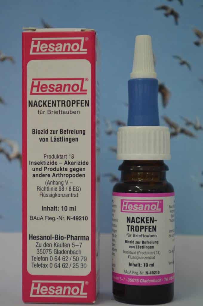 Hesanol Neck drops 10 ml