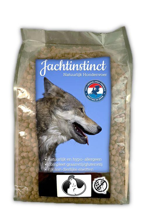 Jachtinstinct Hondenbrokken Kip Graanvrij 4 KG