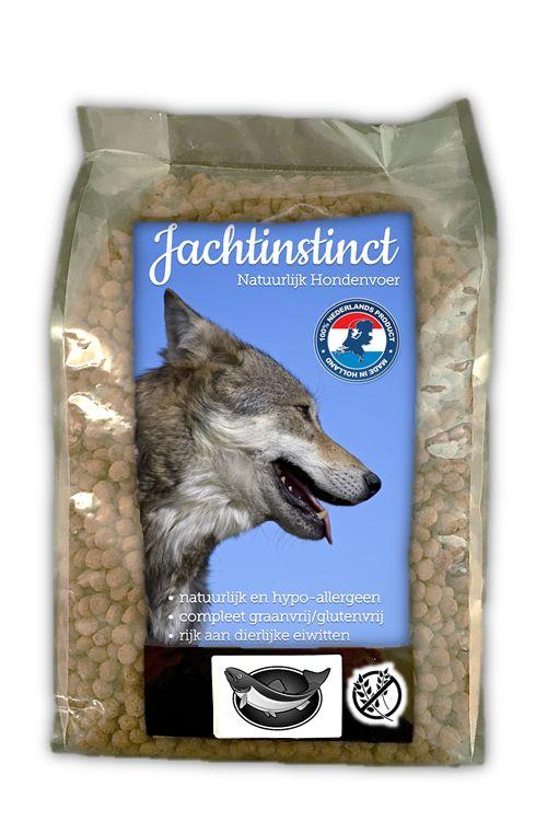 Jachtinstinct Hondenbrokken Zalm Graanvrij Geperst 4 kg