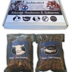 Jachtinstinct Hondenvoer 300 gramnbspJachtinstinct Hondenvoer 300 gram