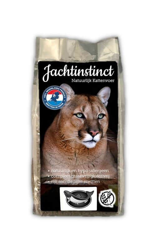 Jachtinstinct Kattenbrokken Zalm Graanvrij 2 KG