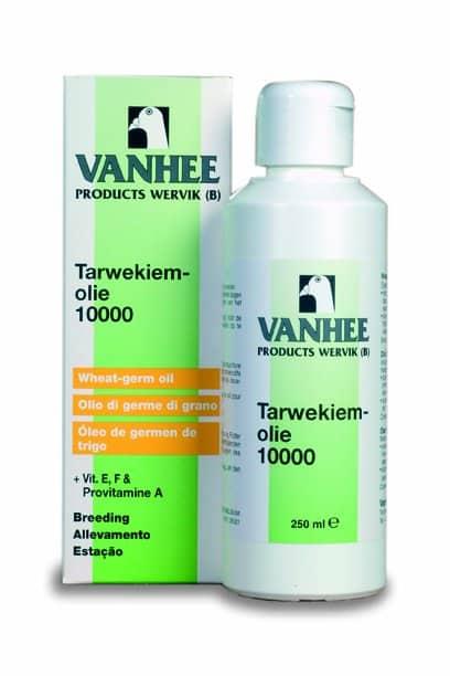 Vanhee Vanhee Tarwekiemolie 10000 250 ml