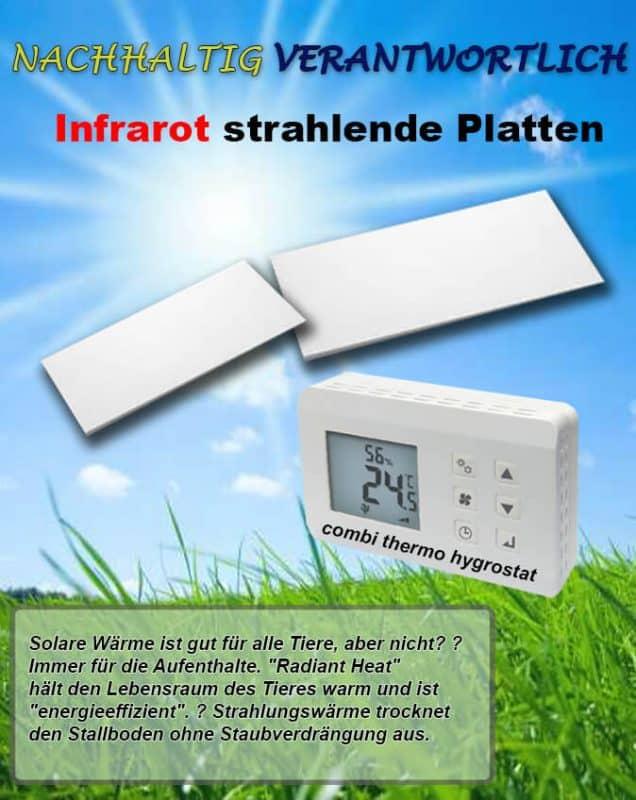 Infrarood stralingspanelen