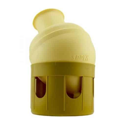 Klaus 3 liter plastic drinker bak met knop 2