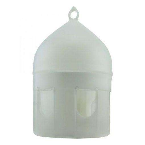Klaus plastic drinker bak met steunring 5 liter