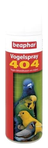 Beaphar 404 Vogelspray 500mlnbspBeaphar 404 Vogelspray 500ml
