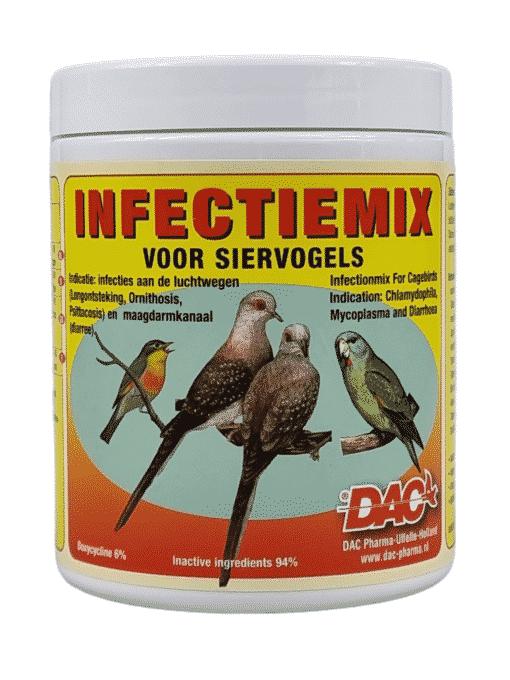 Infectie mix voor siervogels