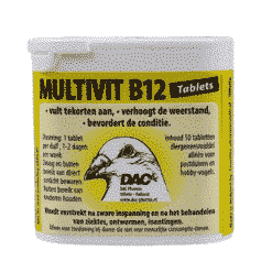 Multivitaminen B-12 tablet