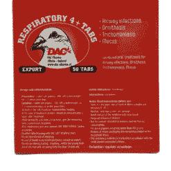 Dac Pharma Respiratoire 4 + 1 tablettennbspDac Pharma Respiratoire 4 + 1 tabletten