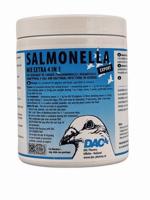 Dac Pharma Salmonella Mix Extra 4 in 1