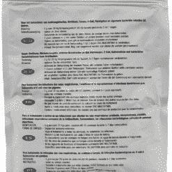 Dac Pharma Respiratoire Red Mix (ornithose, Mycoplasmosis, Coryza, E-coli, Salmonella)