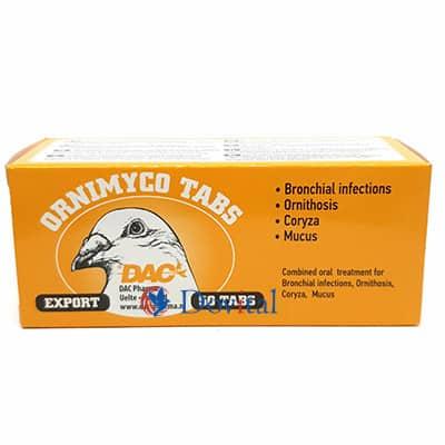 Dac Pharma Ornitabs (Ornithosis Tabletten) Home / Ziekte symptomen / Ornithose (Chlamydia)